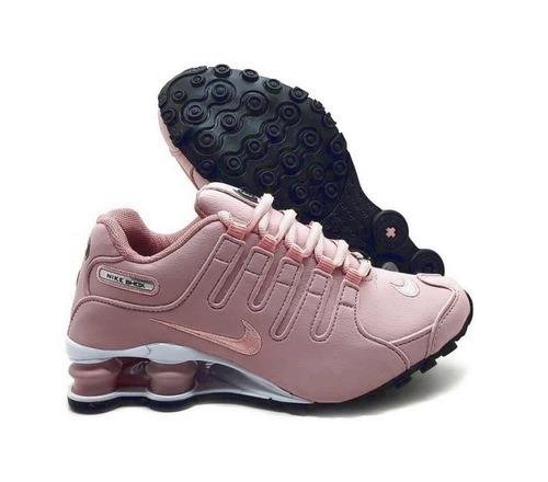 8b1af903c Tênis Nike Shox Nz Eu Original Rosa Feminino