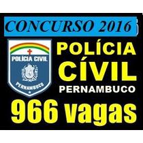 Apostila Concurso Polícia Civil Pe Agente Datiloscopista Pdf