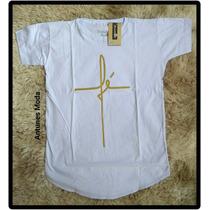 9a63eb242 Busca camisas longline com os melhores preços do Brasil - CompraMais ...