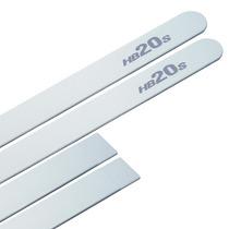 Friso Lateral-hb20s 2012 Diante-branco-- Auto-adesivo