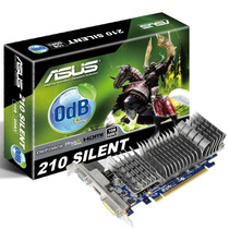 Placa De Vídeo Asus Geforce En210 1gb Ddr3 64 Bits En210