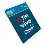 Recarga Celular Crédito Online Tim Claro Oi Vivo