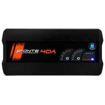Fonte Carregador Bateria Display Digital Jfa 40a Slim Bivolt