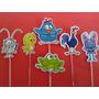 30 Tag / Topper Para Docinhos / Cupcakes Galinha Pintadinha