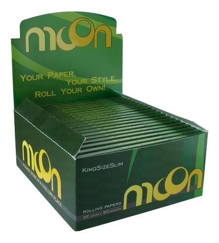 Caixa De Seda Moon Brasil Smoking Com 50un Preço De Atacado