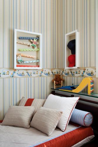 Conjunto decorativo 2 papel de parede 2 faixa bambinos for Precio papel pared decorativo