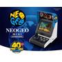 Console Neogeo Mini Arcade Snk 40th Anniversary 40 Jogos