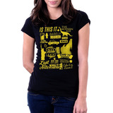 Camiseta Blusa Feminina Is this it The Strokes