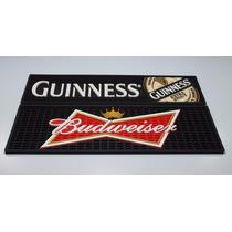 Kit Bar Mat Com 2 Tapetes Budweiser E Guinness