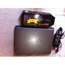 Notebook Sony Vaio Modelo Pcg-7r1m Para Peças Bateria Nova