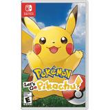 Pokémon Let's Go Pikachu Switch Pronta Entrega Frete Grátis