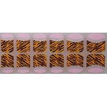Adesivo De Unha (ref: 048) Tigre Cristal Francesinha