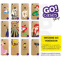 5 Capinhas Gocase Iphone 4/4s/5/5s/5c/6/6 Plus Por R$65,00