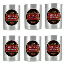 6 Porta Lata Térmico - Cerveja Stella Artois -churrasco-bar