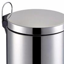 Lixeira Em Aço Inox De 5l P Cozinha Ou Banheiro