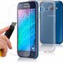 Capinha + Pelicula Vidro Celular Samsung Galaxy J1 Ace Duos