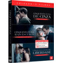 Box Original: Coleção Cinquenta Tons Cinza Liberdade 3 Dvd's