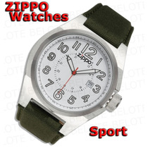 Relógio Zippo Sport Most Branco Puls Oliva 45013