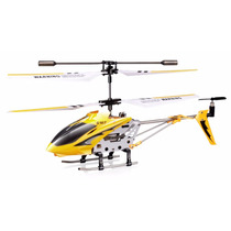 Mini Helicóptero Syma S107g Metal Series Amarelo 3 Canais