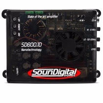 Amplificador Soundigital Sd600.1d 600wrms