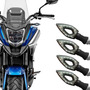 Kit 4 Piscas Setas Led Hornet Cb Cb300 Xj6 Fazer Next 250 Original