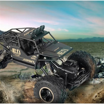 4wd Monster Truck Rc 1:16 Carro Controle Remoto