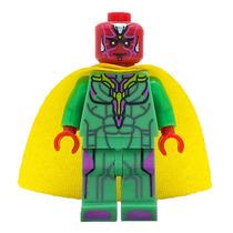 Visão Vingadores Minifiguras Avengers Minifigures Cod.153