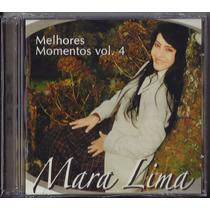 Cd Mara Lima - Melhores Momentos - Vol 4 [duplo Cd+pb]