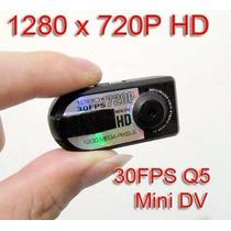 Mini Micro Camera Thumb Dv Fimadora Hd 720p Q5 Espia