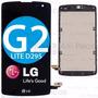 Tela Touch Lcd Completo Com Aro Lg D295 G2 Lite / F60 D392