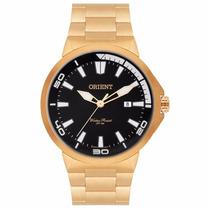 Relógio Orient Masculino Dourado Mgss1104a P1kx Original