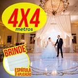 Tapete Pista Dança Personalizada Casamento Aniv Em Lona 4x4