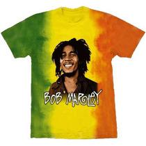 Camiseta De Banda- Bob Marley - Especial - Stamp