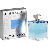 Perfume Masculino Azzaro Chrome100ml Importado Usa