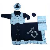 Kit Saída De Maternidade Para Meninos Bebê Príncipe