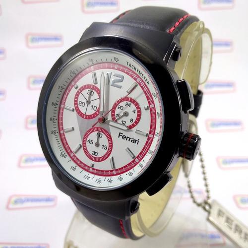c41cb04de25 Relógio Ferrari Runner Fc007-b Cronógrafo Masculino Original