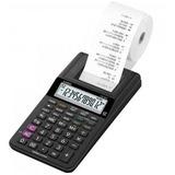 Calculadora C/ Bobina 12 Dígitos Hr 8 Rc Bk Casio + Com Nota