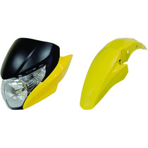 Carenagem+laterais+paralama Titan 150 Amarelo 2013