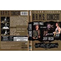 Dvd A.r.m.s Concert Vol 2 Jimmy Page Jeff Beck Eric Clapton