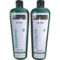Kit Selagem Silver S/ Formol Carbocisteína 1litro