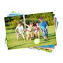 100 Folhas Papel Fotográfico Adesivo Glossy A Prova D