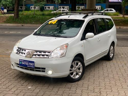Nissan Grand Lívina Sl Automatica Couro 7 Lugares Impecável