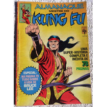 Almanaque Mestre Do Kung Fu Nº 1 - Shang Chi - 1982 - Abril