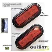 Lanterna Led Carretinha Jet Barco Carga Moto Reboque Engate
