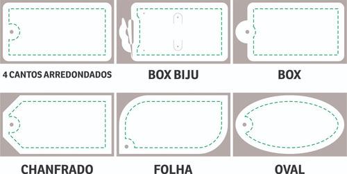 b1db1b250 6000 Mil Tags Etiquetas Para Produtos Roupas Brincos 4x1