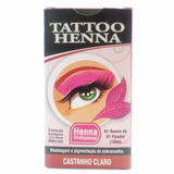 Henna Para Sobrancelha Tattoo
