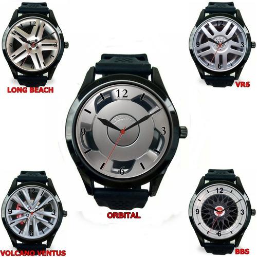8bc8d3ce3b0 Kit 5 Relógios Pulso Personalizado Roda Carro Barato Atacado