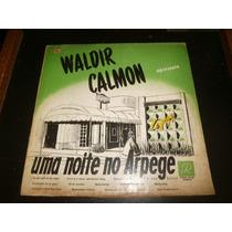 Lp Waldir Calmon - Uma Noite No Arpege, Disco Vinil, 1956