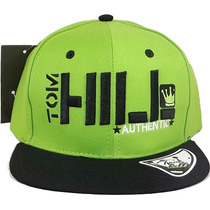 Boné Aba Reta Tom Hill Authentic Bordado Snapback
