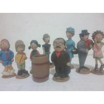 Coleção Bonecos Turma Do Chaves Em Resina